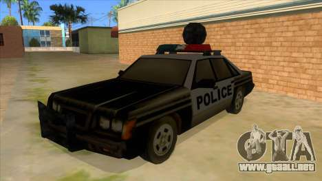 Police Car from Manhunt 2 para GTA San Andreas