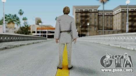SWTFU - Luke Skywalker Tattoine Outfit para GTA San Andreas tercera pantalla