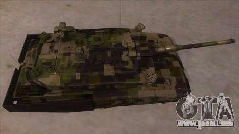 MBT52 Kuma para visión interna GTA San Andreas