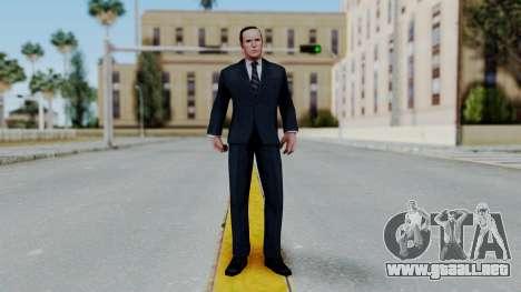 Marvel Future Fight Agent Coulson v1 para GTA San Andreas segunda pantalla