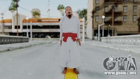 WWE Mr Fuji para GTA San Andreas segunda pantalla