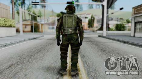SAJ Maskirna para GTA San Andreas tercera pantalla
