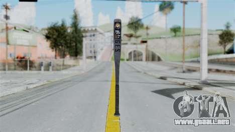 GTA 5 Baseball Bat para GTA San Andreas segunda pantalla
