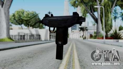 GTA 3 Uzi para GTA San Andreas segunda pantalla