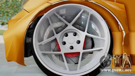 Toyota Vellfire S Class para GTA San Andreas vista hacia atrás
