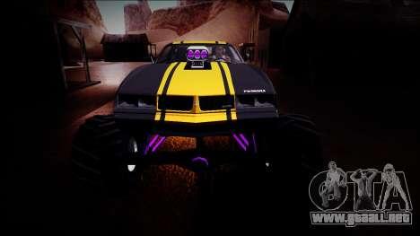 GTA 5 Imponte Phoenix Monster Truck para la vista superior GTA San Andreas