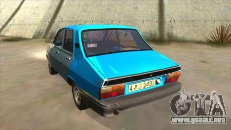 Dacia 1310 Rusty para GTA San Andreas vista posterior izquierda