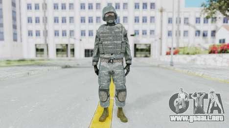 Acu Soldier Balaclava v3 para GTA San Andreas segunda pantalla