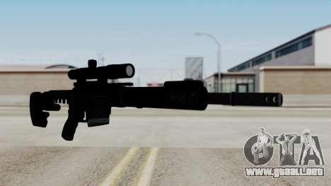 McMillan CS5 No Bipod para GTA San Andreas