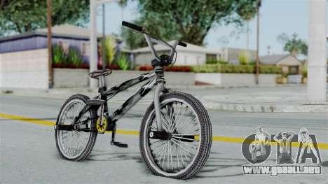 GTA 5 BMX Camo para GTA San Andreas left