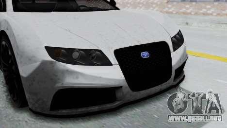 GTA 5 Truffade Adder v2 IVF para GTA San Andreas vista hacia atrás
