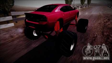 2006 Dodge Charger SRT8 Monster Truck para GTA San Andreas left