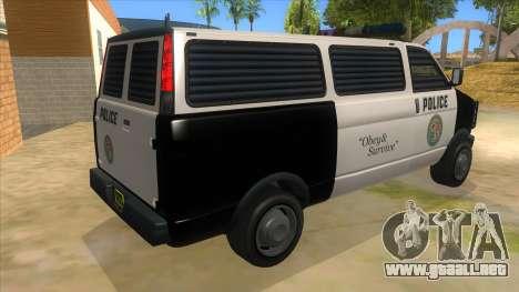 GTA 5 Burrito Transport para la visión correcta GTA San Andreas