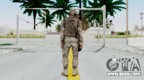 Crysis 2 US Soldier 4 Bodygroup A para GTA San Andreas tercera pantalla