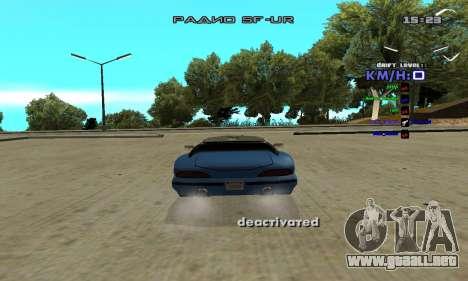 Drift Camera para GTA San Andreas segunda pantalla
