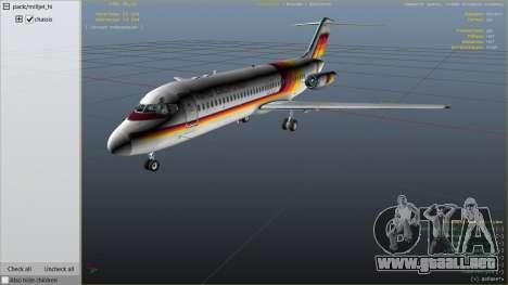 GTA 5 McDonnell Douglas DC-9-15 sexta captura de pantalla
