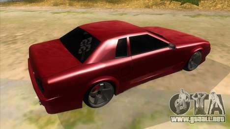 GTR Elegy para la visión correcta GTA San Andreas