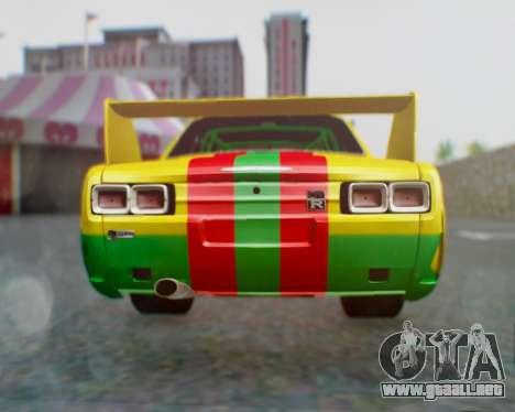 Nissan 2000GT-R [C10] Tunable para la visión correcta GTA San Andreas