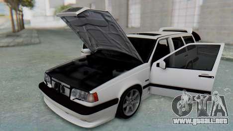 Volvo 850R 1997 Tunable para visión interna GTA San Andreas