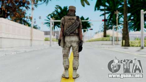 Crysis 2 US Soldier 5 Bodygroup B para GTA San Andreas tercera pantalla