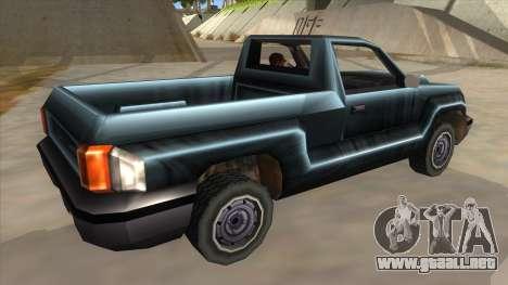 GTA III Bobcat Original Style para la visión correcta GTA San Andreas