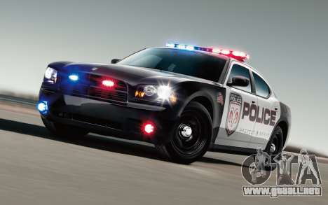 Fresco luces de la policía para GTA San Andreas