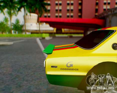 Nissan 2000GT-R [C10] Tunable para el motor de GTA San Andreas