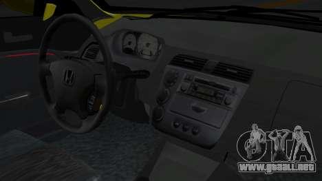 Honda Accord Vtec2 Stock para la visión correcta GTA San Andreas