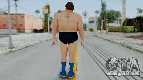 Andre Giga para GTA San Andreas tercera pantalla