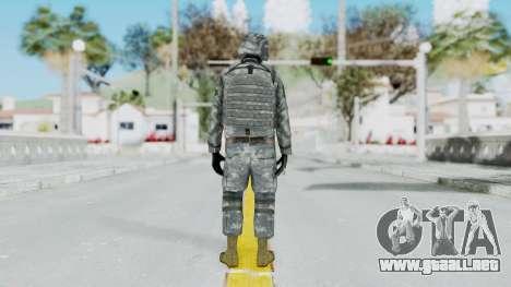 Acu Soldier Balaclava v2 para GTA San Andreas tercera pantalla