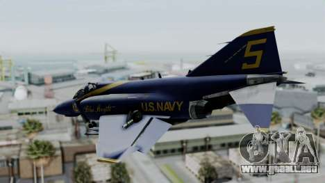 McDonnell Douglas RF-4B Blue Angels para GTA San Andreas left