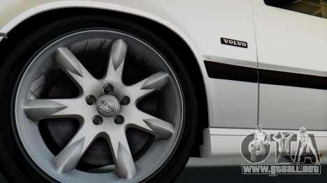 Volvo 850R 1997 Tunable para la visión correcta GTA San Andreas