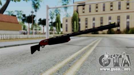 No More Room in Hell - Winchester Super X3 para GTA San Andreas segunda pantalla