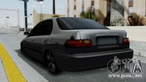 Honda Civic 1992 Sedan para GTA San Andreas left