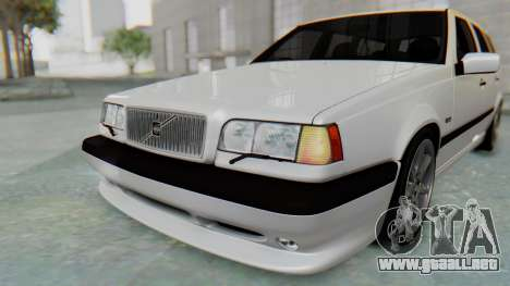 Volvo 850R 1997 Tunable para GTA San Andreas interior