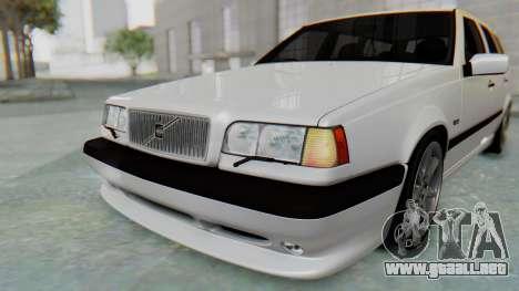 Volvo 850R 1997 Tunable para GTA San Andreas interior