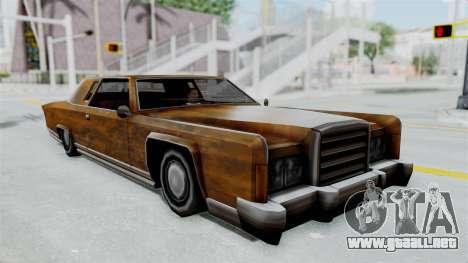 Vinilo de Óxido de Remington para GTA San Andreas