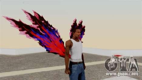 Ayatos Kagune para GTA San Andreas segunda pantalla