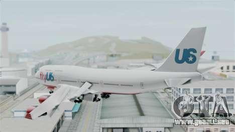 GTA 5 Jumbo Jet v1.0 FlyUS para la visión correcta GTA San Andreas