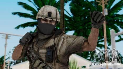 Crysis 2 US Soldier 7 Bodygroup B para GTA San Andreas