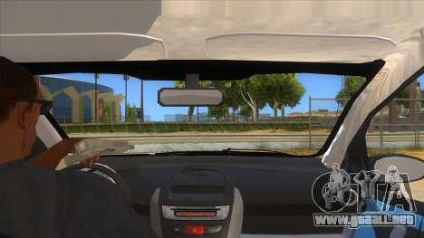 2005 Peugeot 107 V2 para visión interna GTA San Andreas
