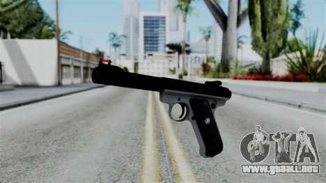No More Room in Hell - Ruger Mark III para GTA San Andreas