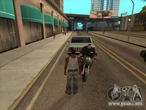 Los rusos en el distrito Comercial para GTA San Andreas sucesivamente de pantalla