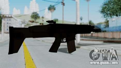 SCAR-L para GTA San Andreas tercera pantalla