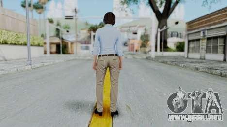 GTA 5 Karen Daniels Civil para GTA San Andreas tercera pantalla