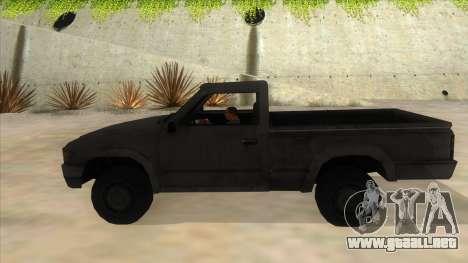 Toyota Hilux Militia para GTA San Andreas left