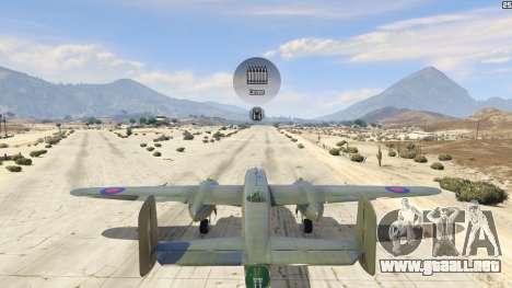 GTA 5 B-25 quinta captura de pantalla
