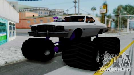 Ford Gran Torino Monster Truck para GTA San Andreas