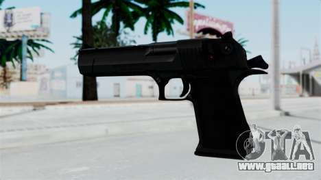 Pouxs Desert Eagle v2 Black para GTA San Andreas segunda pantalla