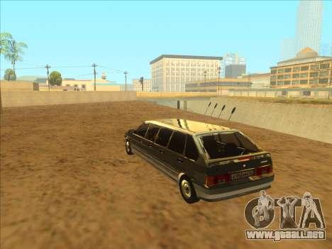 VAZ 2114 9-door para visión interna GTA San Andreas